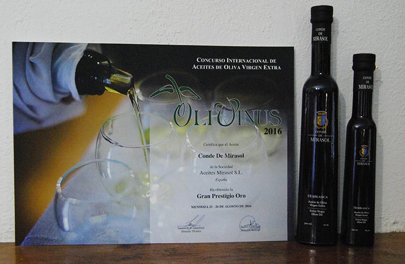 También en este concurso se ha reconocido el diseño y la presentación de la botella