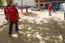 La concentración petanca reúne a los mayores de los pueblos vecinos de la comarca