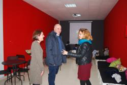 El alcalde ha visitado las instalaciones de la Ludoteca junto a la concejala de Juventud