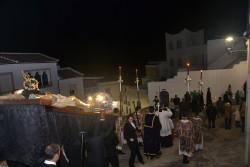 """La procesión extraordinaria del Cristo de la Misericordia hizo un pequeño recorrido que bordó rincones como el """"Chorreadero"""""""