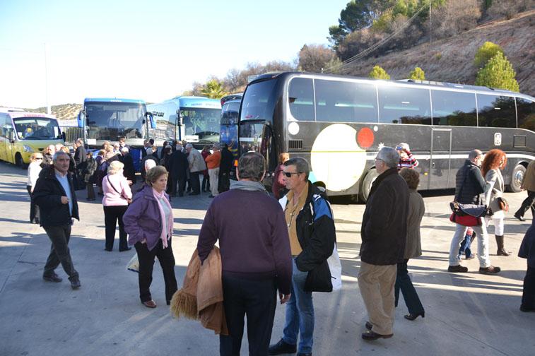 Autobuses en los museos
